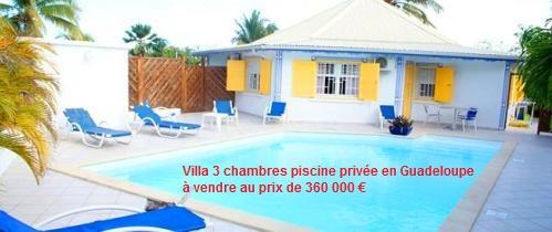 Villa à vendre en Guadeloupe