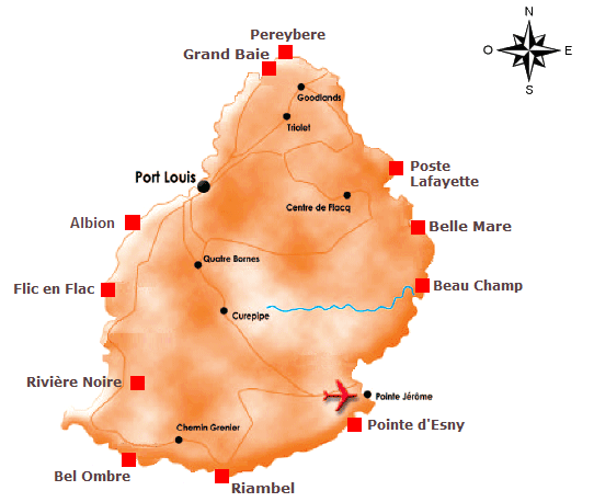 Location de villa Ile Maurice avec Souslestropiques