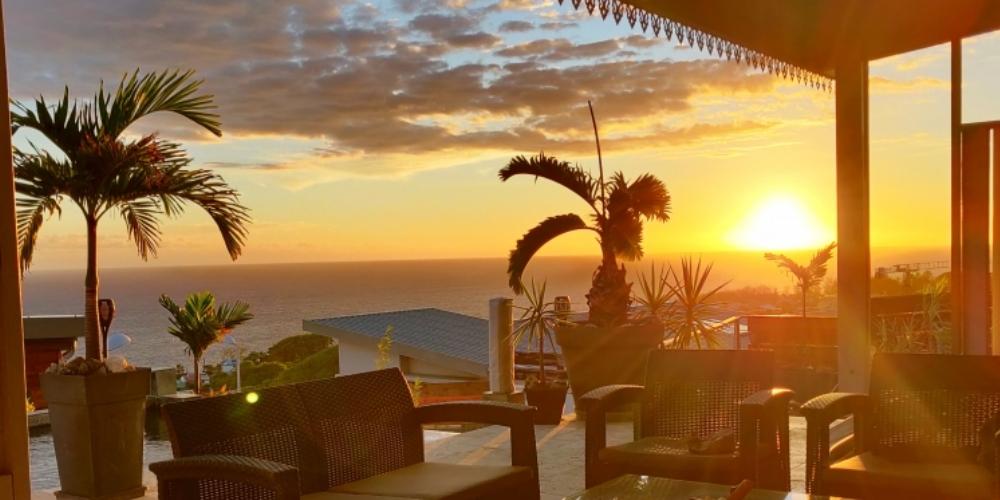 Villa de standing superbe vue océan à St Pierre - AREU146